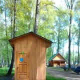 душ для обычных домиков с горячей водой
